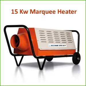 15Kw Marquee Heater