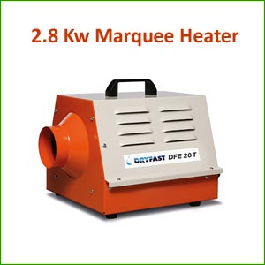 2.8Kw Marquee Heater