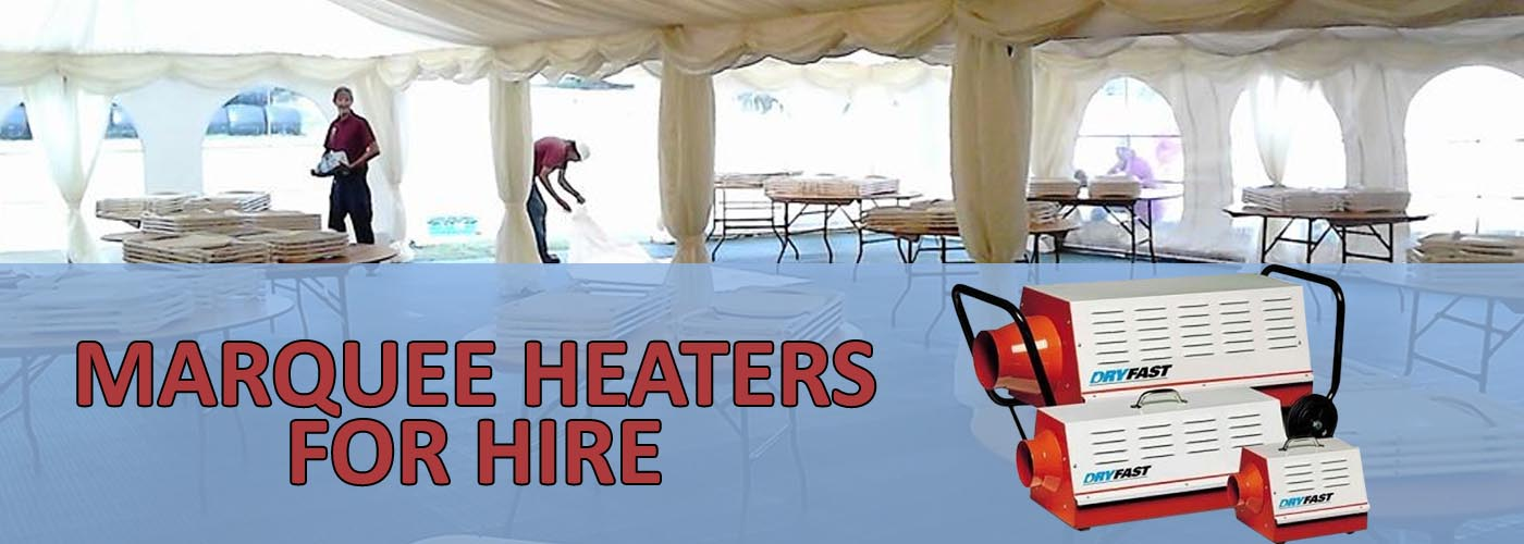 Marquee Heating Banner